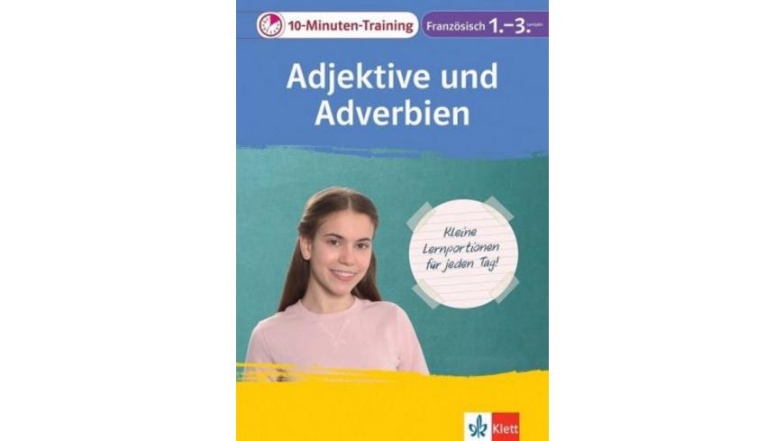 Klett 10-Minuten-Training Französisch Adjektive un