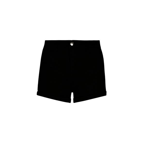 High Waist Skinny Denim Shorts