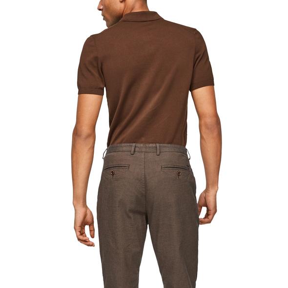 Poloshirt aus Feinstrick - Poloshirt