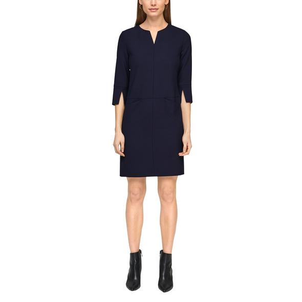 Kleid mit femininem Ausschnitt - Webware-Kleid