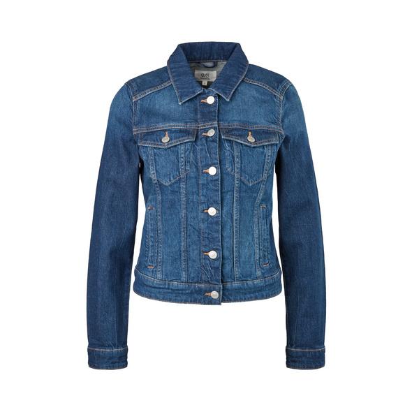 Jeansjacke mit Wascheffekt - Jacke