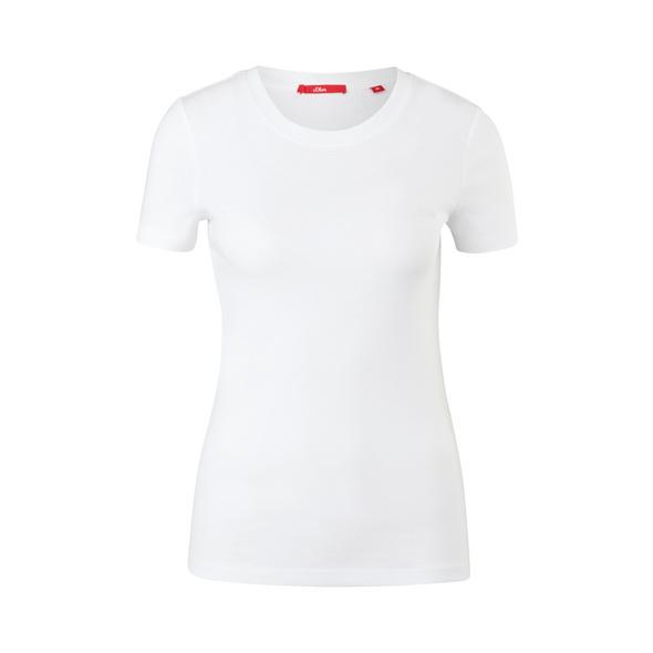 Slim Fit: T-Shirt mit Crew Neck - T-Shirt