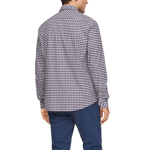 Regular: Hemd mit Karomuster - Stretchhemd