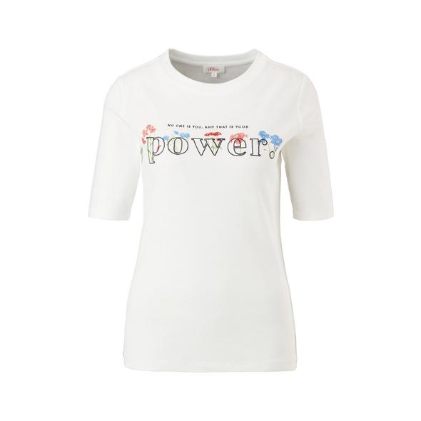 Shirt mit Frontprint - T-Shirt