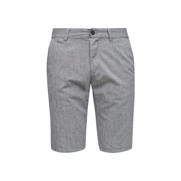 Regular Fit: Baumwoll-Bermuda - Hose