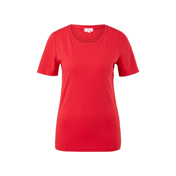 T-Shirt aus Interlockjersey - T-Shirt