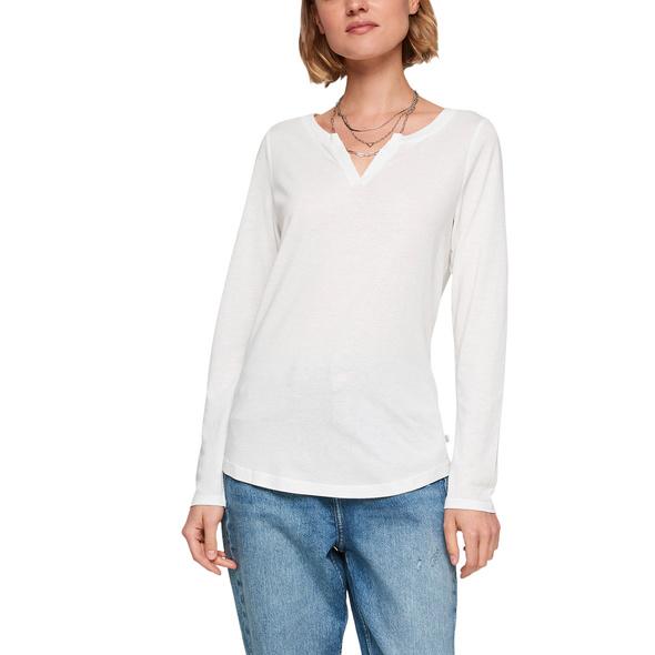 Langarmshirt im cleanen Look - Longsleeve