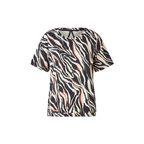 Cut-Out-Shirt aus Sommersweat - Sweatshirt