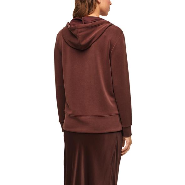 Kapuzensweater aus Scuba-Jersey - Sweatshirt