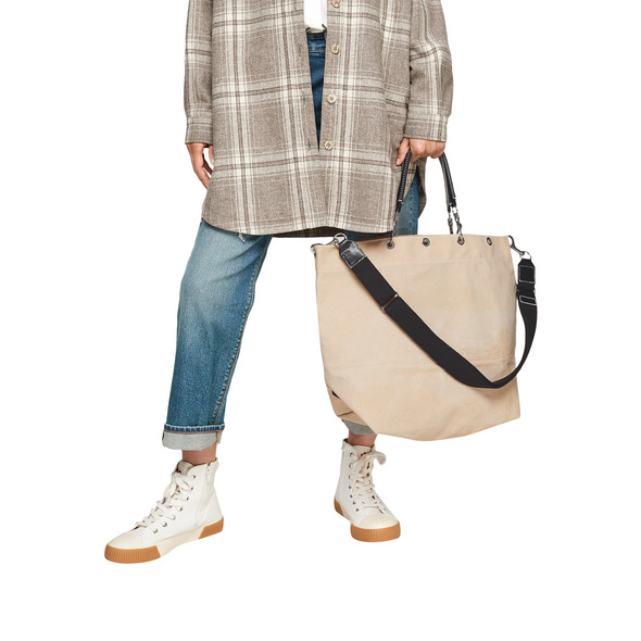 Shopper im Leinenmix - Tasche