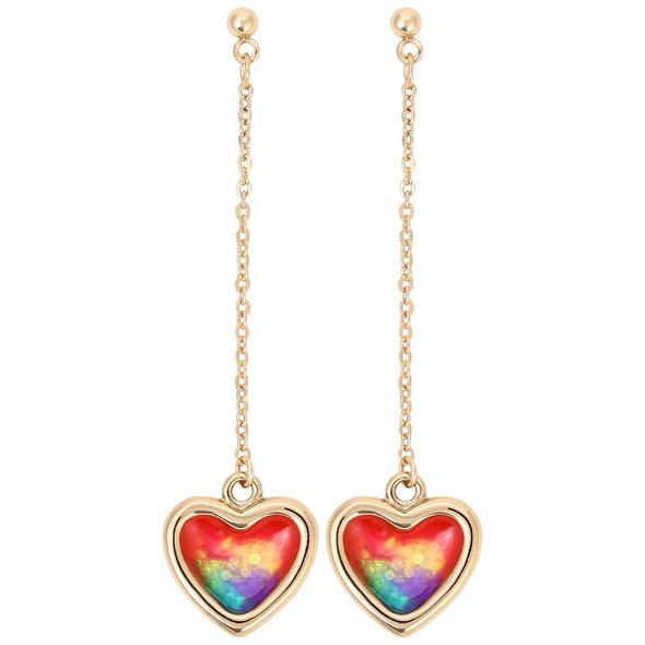 Ohrstecker - Coloured Heart