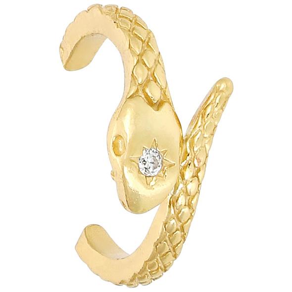 Ohr-Set - Golden Snake