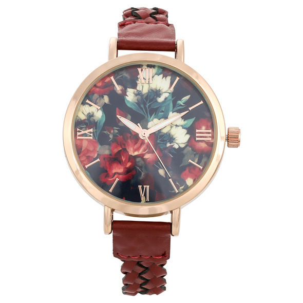 Uhr - Beautiful Red