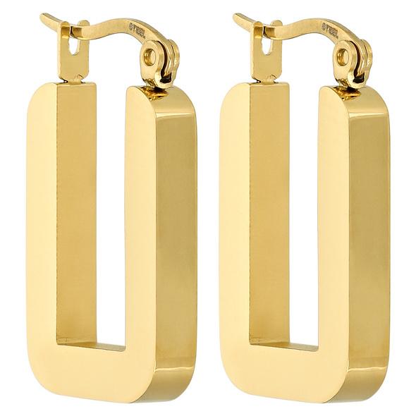 Edelstahl Ohrringe - Golden Beauty