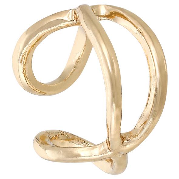 Earcuff - Golden Infinity