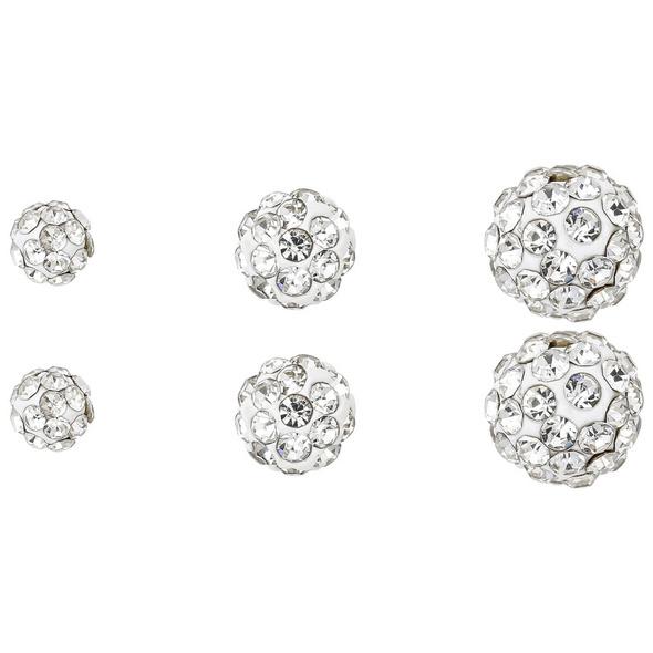 Ohrstecker-Set - Sparkling Balls