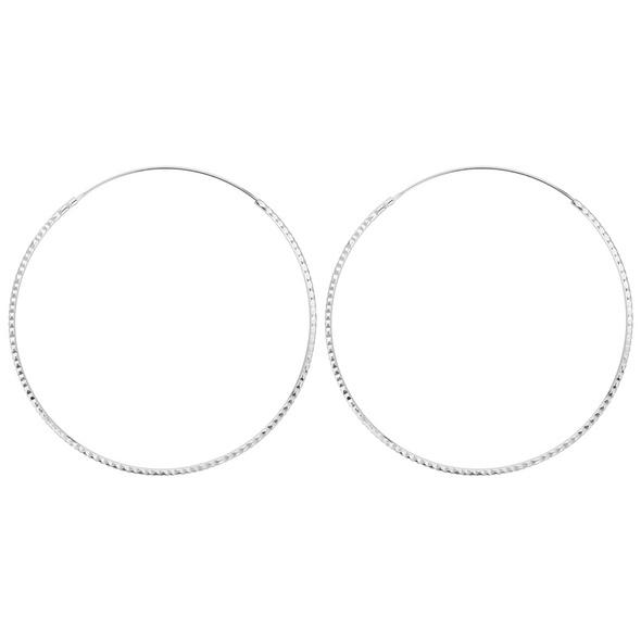 Creolen - Silver Round