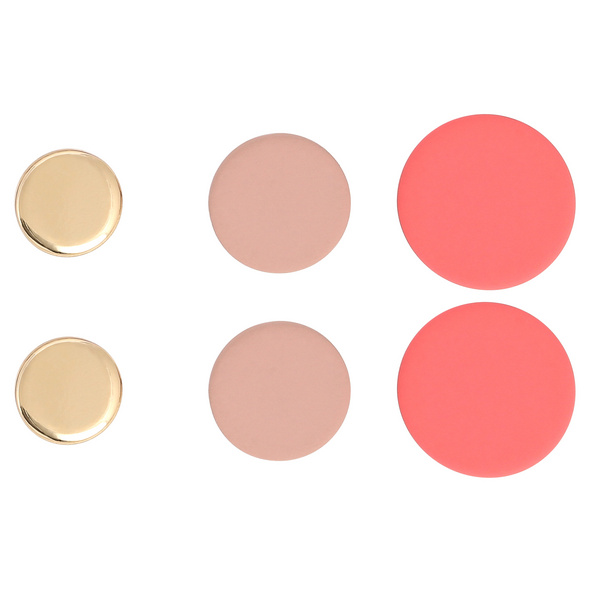 Ohrstecker-Set - Rosé Circle