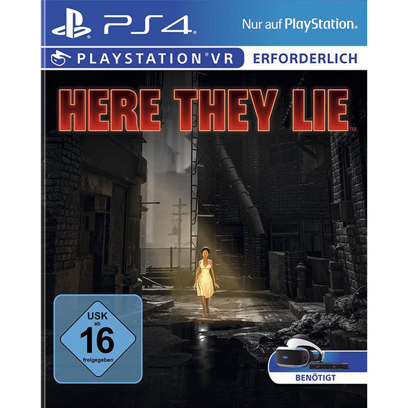 Sony PlayStation VR Here They Lie