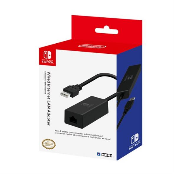 Nintendo Switch Wired Internet LAN-Adapter (HORI)