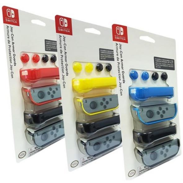 Nintendo Switch JoyCon Armor Guards 2 Stueck