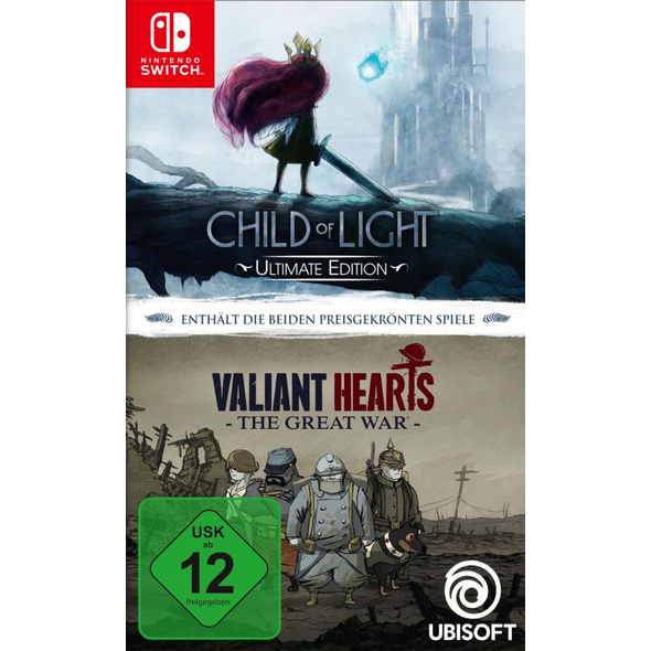 Child of Light Ultimate Edition + Valiant Hearts: The Great War