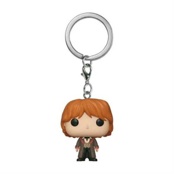 Harry Potter - Pocket POP! Schlüsselanhänger Weihnachtsball Ron