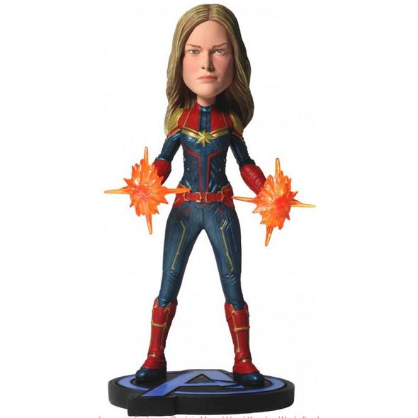 Avengers: Endgame - Wackelkopf-Figur Captain Marvel
