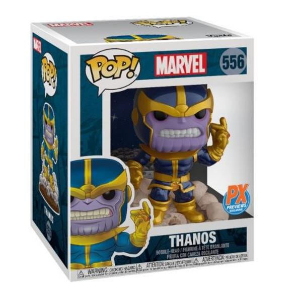 Marvel - POP!- Vinyl Figur Thanos schnipsend