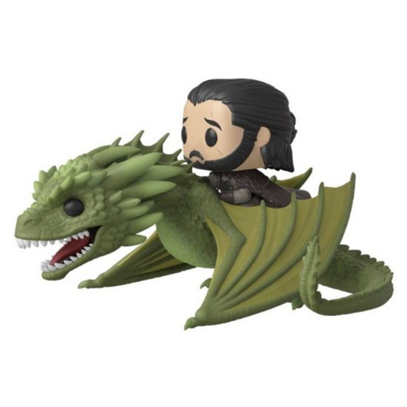 Game of Thrones - POP!- Vinyl Figur Jon Snow mit Rhaegal