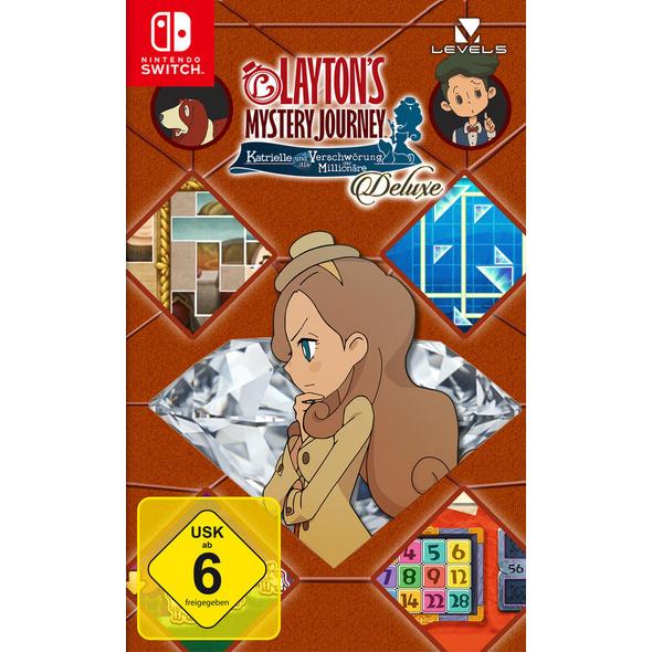 Layton`s Mystery Journey: Katrielle und die Verschwörung der Millionäre Deluxe Edition