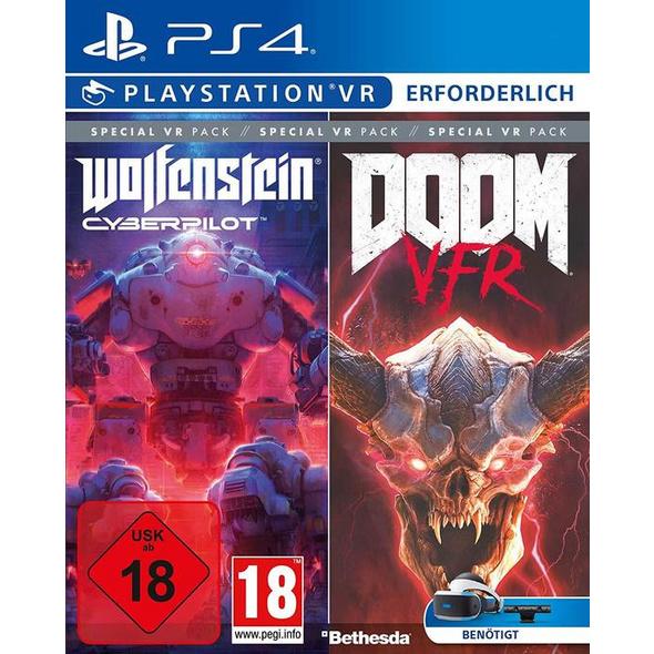 Doom VFR + Wolfenstein Cyberpilot