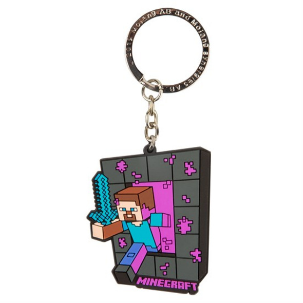 Minecraft - Schlüsselanhänger Portal Steve