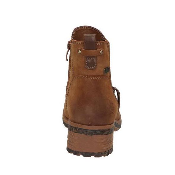 Chelsea Boot in brauner Lederoptik