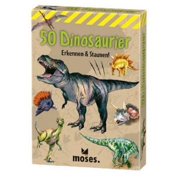 50 Dinosaurier