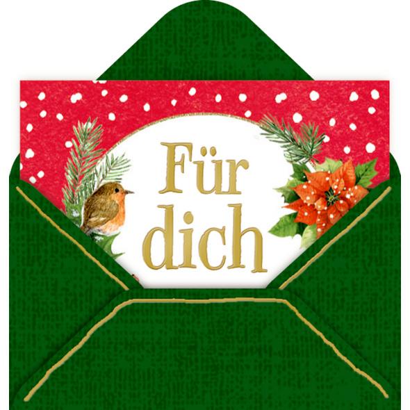 Mini-Briefchen - Zauberhafte Weihnachten  M. Bastin