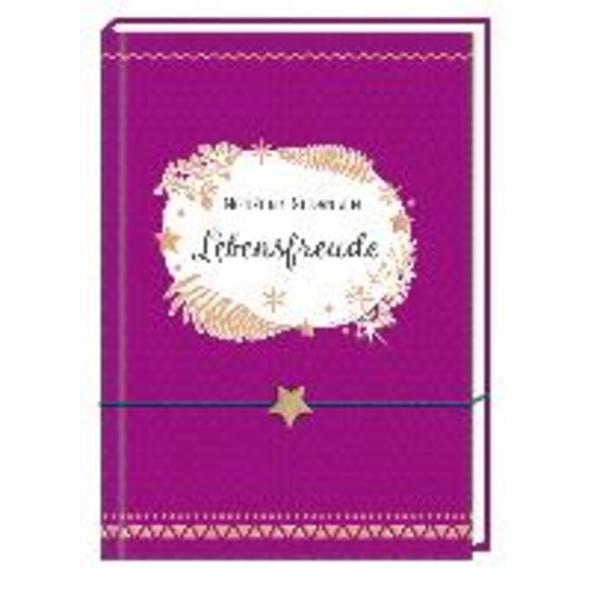 Notizbuch mit Freundschaftsband - Lebensfreude