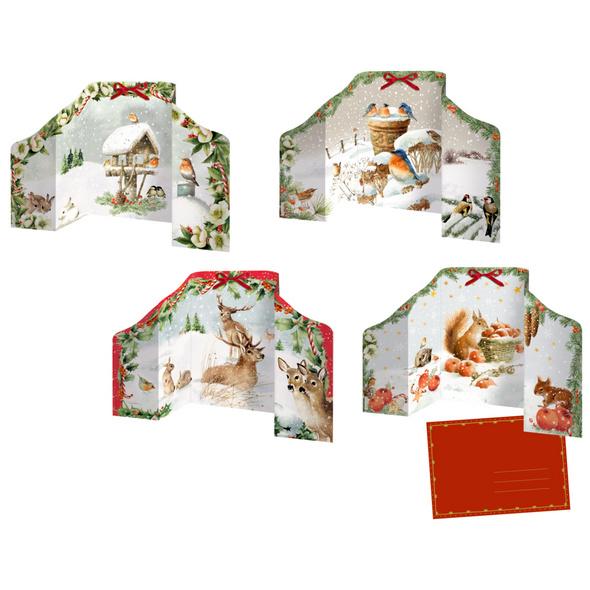 Mini-Adventskalender - Marjoleins Weihnachtspanora