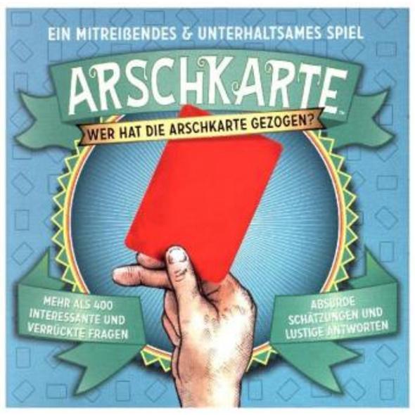 Arschkarte - Wer hat die Arschkarte gezogen?  Kart