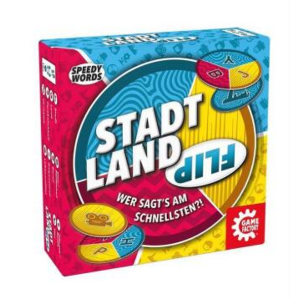 Game Factory - Stadt Land Flip