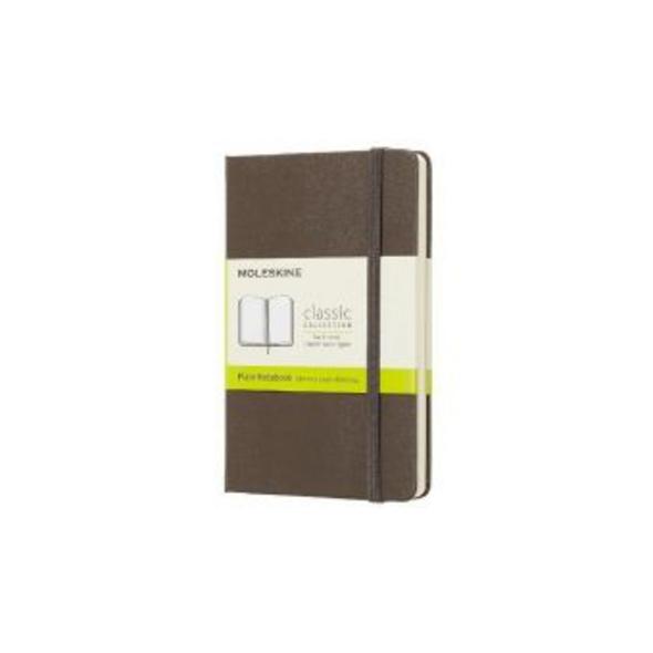 Moleskine Earth Brown Notebook Pocket Plain Hard