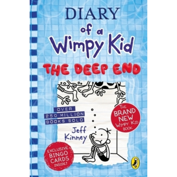 Diary of a Wimpy Kid 15. The Deep End