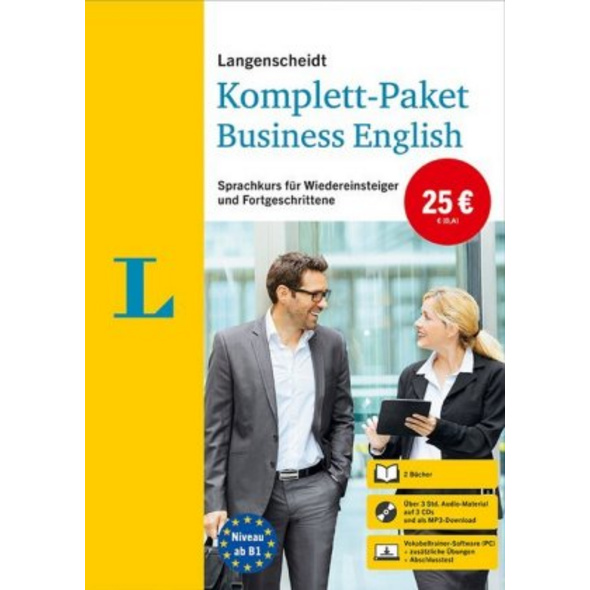 Langenscheidt Komplett-Paket Business English. Spr