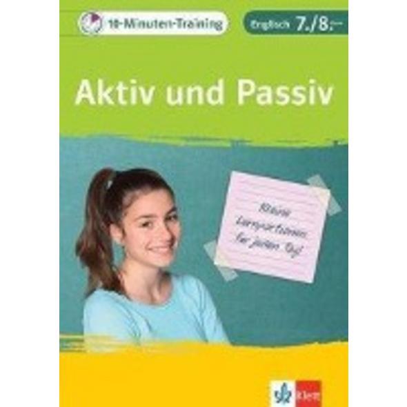 10-Minuten-Training Englisch Grammatik Aktiv und P