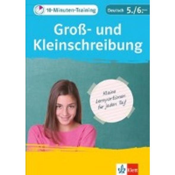 10-Minuten-Training Deutsch Groß- und Kleinschreib