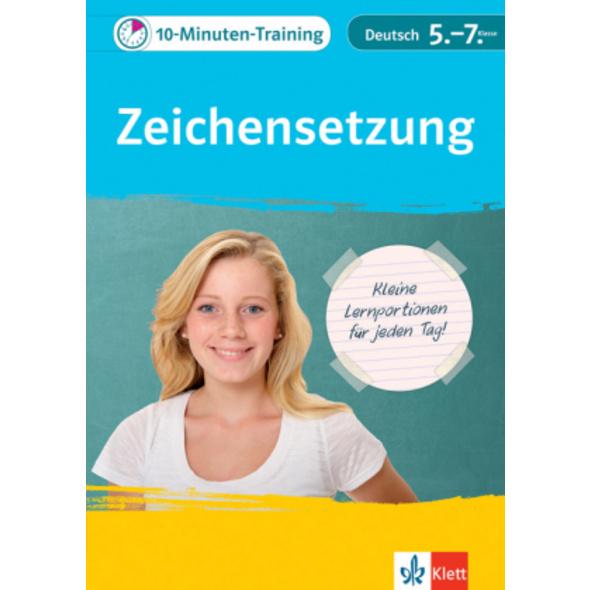 Klett 10-Minuten-Training Deutsch Rechtschreibung