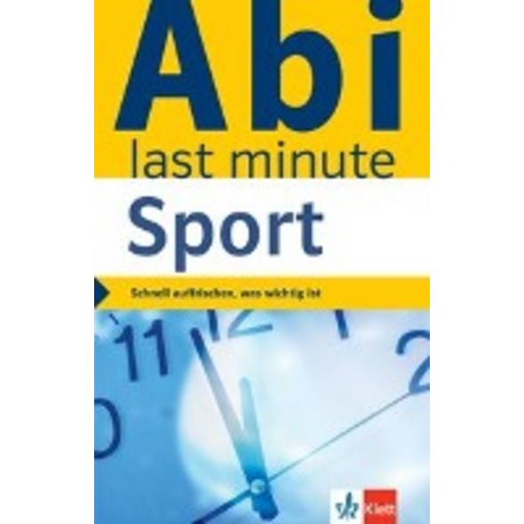 Abi last minute Sport