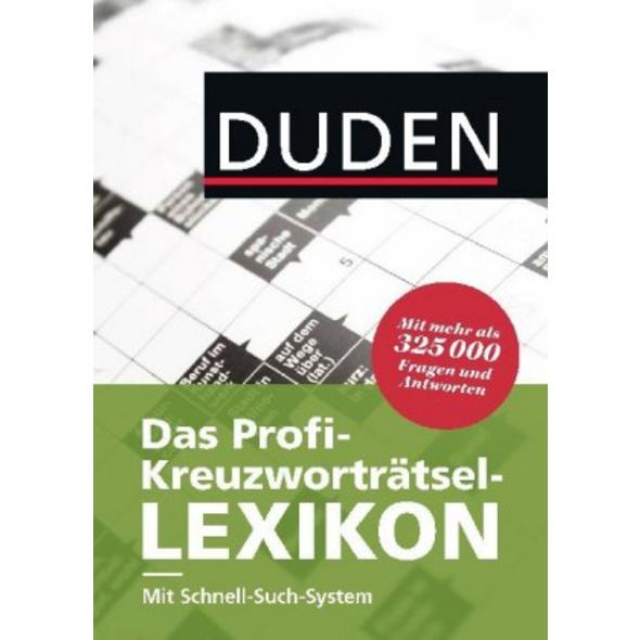 Duden - Das Profi-Kreuzworträtsel-Lexikon mit Schn