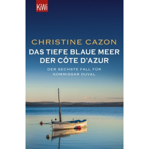 Das tiefe blaue Meer der Côte d Azur