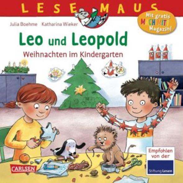 LESEMAUS 163: Leo und Leopold - Weihnachten im Kin